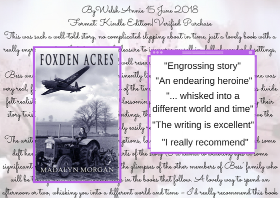 Annes review Foxden Acres