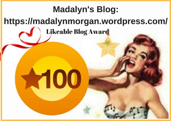 BLOG 100 Likeable Award