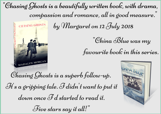 Chasing Ghosts Review from Margaret