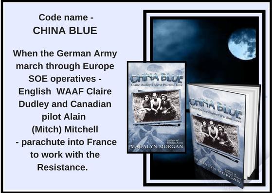 China Blue night poster