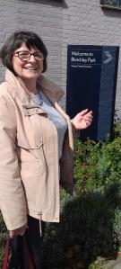 arriving at Bletchley Park